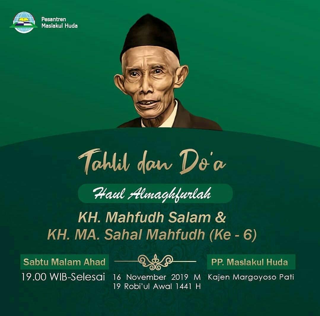Ono Rendeng, Ono Ketigo (Sebuah Catatan Haul KH Sahal Mahfudz dan KH Mahfudz Salam)