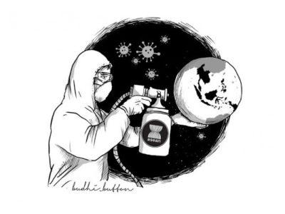 Corona, Imajinasi Destruktif, dan Sikap Seorang Muslim
