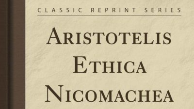 Ngaji Kitab Al-Akhlaq Aristoteles Eticha Nicomachea