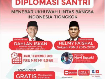 Diplomasi Santri, NU Tiongkok Kuatkan Relasi Indonesia-Tiongkok