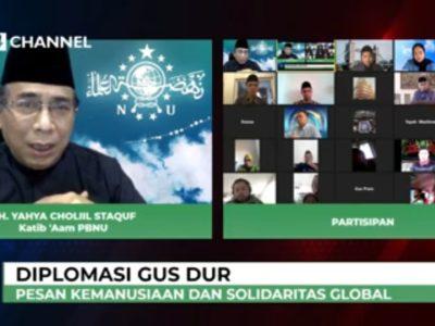 Warisan Gus Dur Diplomasi Kemanusiaan