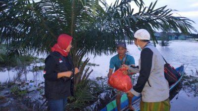 LPBI NU Distribusikan Bantuan di 5 Daerah Terdampak Banjir di Kalimantan Selatan