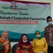 Peresmian Kantor Kyai Wahab Foundation di Jakarta