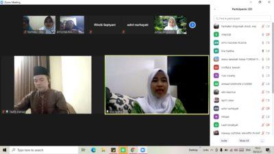 Perkuat Nilai Keaswajaan, Fatayat NU Kemayoran Adakan Pengajian Online Bulanan