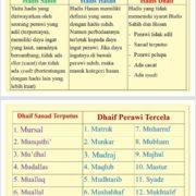 Alergi Hadis Dhaif