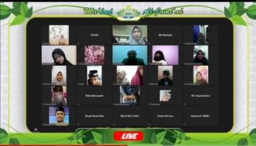 Ma'had Al-Jami'ah UIN Raden Intan Lampung Kembali Menggelar Muhadhoroh Sughro Male Dormitory Secara Virtual