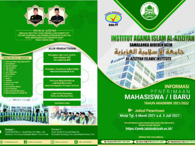 Hari Ini, IAI Al-Aziziyah Samalanga Membuka Pendaftaran Calon Mahasiswa Baru Tahun
