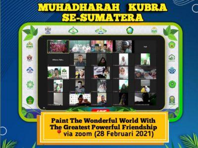 Gebrakan Baru: Kolaborasi Ma'had Al-Jami'ah se-Sumatera Gelar Muhadharah Kubra Perdana Secara Virtual