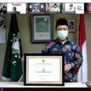 LPBI NU Kembali Raih Penghargaan dari BNPB Tahun 2021