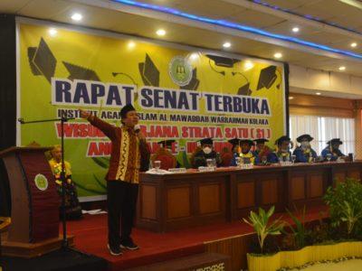 Sambut Generasi Emas Indonesia 2045 IAI Al Mawaddah Warahmah Kolaka Wisuda 55 Sarjana