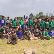 Harlah Ke-87, GP Ansor Cianjur Gotong Royong Buka Lahan Pertanian