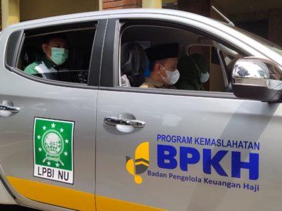 Dukung LPBI NU Hadapi Bencana, BPKH Beri Bantuan Mobil Rescue