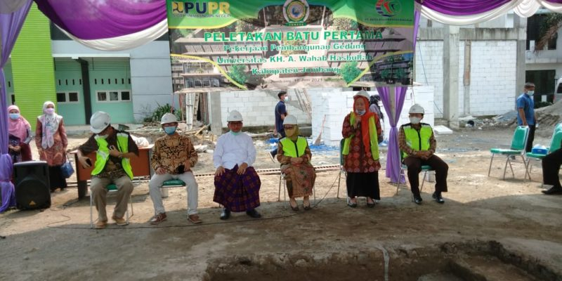 UNWAHA Lakukan Peletakan Batu Pertama Pembangunan Gedung Bantuan Presiden