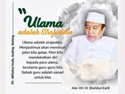 Sosok Fakih Ilmu Hisab, KH M Shohibul Kahfi
