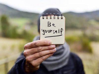 menjadi dirimu sendiri
